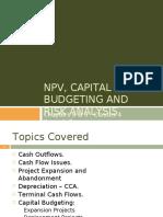 2- NPV Capital Budgeting