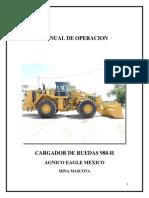 Manual de Operacion 988-h