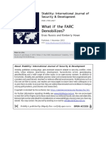 What if the Farc...
