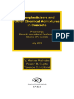 Superplasticizers and Other Chemical Admixtures in Concrete