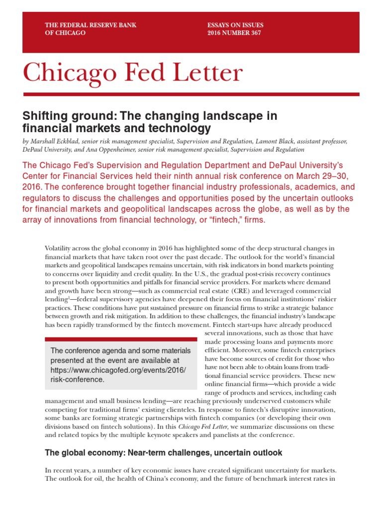 essay on future of financial technology And solving certain financial matters i then plan to start the medical laboratory technology degree program next fall at examples of well-written essay author.