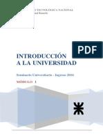 01 Introduccion a La Universidad 2016