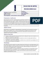 MECANISMOS - Microcurriculo 2016-2