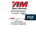 RotinaOperacionalA319 A320 A321 REVISAO11