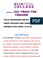 Train the Trainer Presentation (school task)
