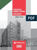 CBIC Catalogo Principais Normas Tecnicas Edificacoes