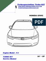 Honda 06 Civic r18 Hondata Flashpro