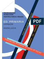 PROGRAMACION Primaria Globalizad 3 Curso Andalucia