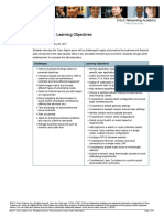 Cisco Aspire Learning Objectives 28Feb11