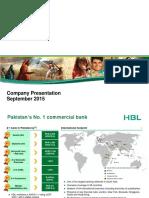 Investor Presentation-September 2015