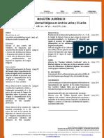 Boletín Jurídico Agosto 2016 Año XI