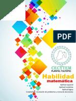 Manual Habilidad Matemática 2016 Tultepec