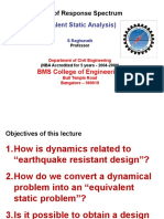 Concept of Response Spectrum