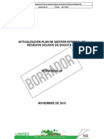 Plan de Gestion Integral de Residuos solidos v 1 Rev1 Dir
