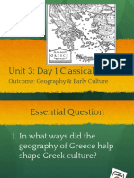 unit 3  day 1 greece geography   culture in class notes up pptx