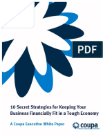 2 21714 A1 - 10 Strategies for Keeping Your Business Financially Fit in a Tough Economy