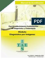 Manual-Establecimientos Ambulatorios de Diagnóstico y Tratamiento - Modulo Diagnostico Por Imagenes-2013
