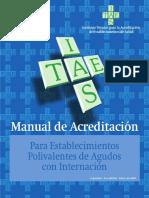 Manual-Establecimientos Polivalentes de Agudos Con Internación-Tercera-Edicion