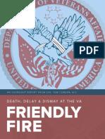 Friendly Fire VA Report