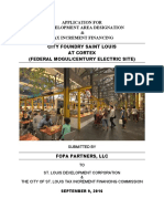 City Foundry, St. Louis - TIF Application