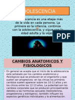 ADOLESCENCIA. Patricia Bracamonte