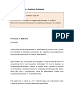 Modalidades, Tipos e Fases Da Licitação - Módulo III