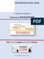 A Parent's Guide to Assessment - Year 1-8