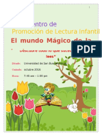 Proyecto Promoción de Lectura