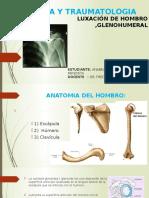 EXPOSICION GLENOHUMERAL , trauamtologia