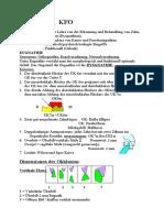 Kieferorthopaedie-Skriptum (8.Semester) (WS & SS)