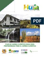 Huila 2050 - Plan de Cambio Climatico