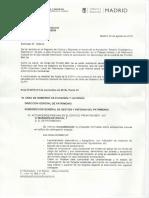 Respuesta del DGIPUyPC del Ayuntamiento de Madrid sobre las obras en el Beti-Jai
