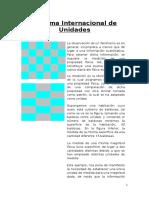 Sistema Internacional de Unidades y Metro Patrón