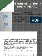 Defisiensi Vitamin Dan Mineral