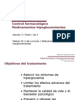 Control Farmacologico diabetes