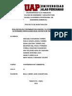 Proyecto de Dispersión Sonora 2014