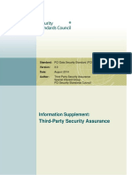 PCI DSS V3.0 Third Party Security Assurance