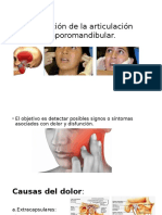 Examen Físico de Reumatología.