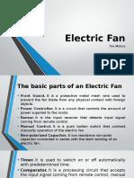 Electric Fan PPT