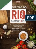 Receitas Do Rio Gastronomia 2015