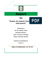 Complete Report on SUKUK
