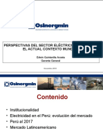 Perspectivas Sector Electrico Peruano
