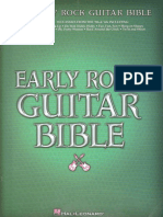 Early Rock Guitar Bible (Guitar Recorded Versions) - 2004