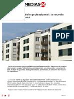 Augmentation Locatif Residentiel Et Professionnel