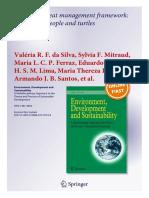 Article Tamar 2015 - Adaptive Threat Management Framework Integrating People and Turtles - Springer Journal