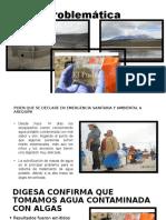Problemática Represas en Arequipa