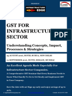 GST bill for Infrastructure Sector