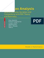 Ebenfelt P. Et Al - Complex Analysis (2010)