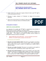 2° INFORME ANALISIS QUIMICO