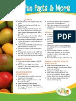Mango Fun Facts Eng